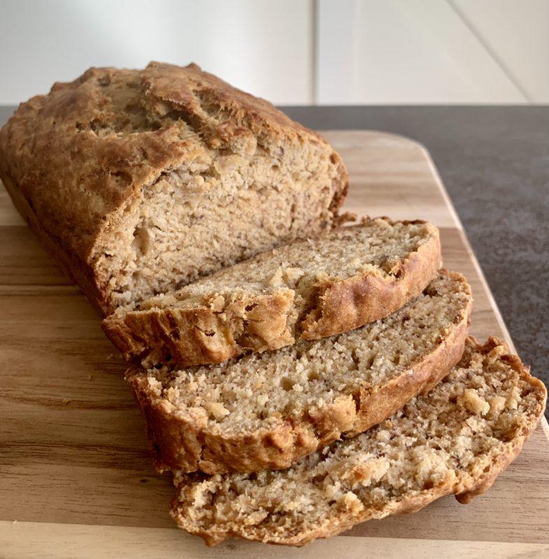 Easy Vegan Banana Bread Recipe On The Healthy